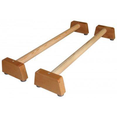 Barras de equilibrio de madera – par largo