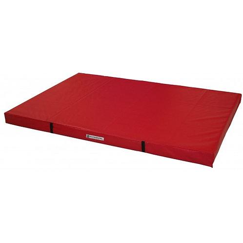 Colchoneta para caída sobre la cama elástica