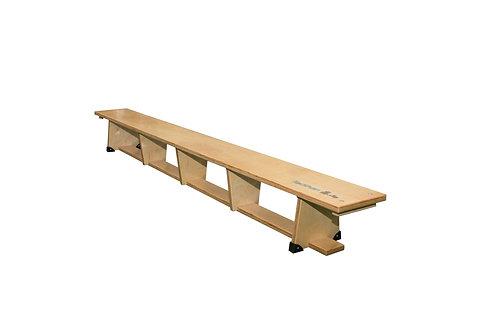 Banco de gimnasia de madera