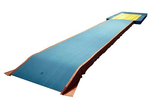 Tumbling Track o pasillo de trampolín aprobado por la categoría FIG