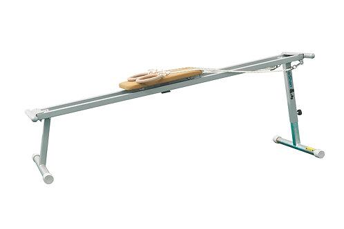 Plataforma entreno de fuerzas para anillas - 250cm×60cm×75-125cm
