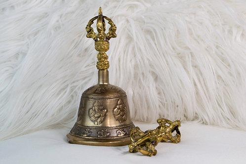 Bronze Tibetan Altar Bell