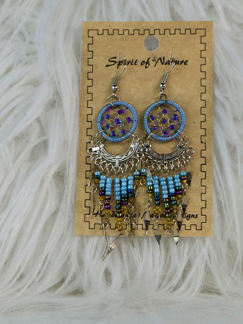 Spirit of Nature, Dream Catcher Earrings