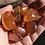 Thumbnail: Orange Rose Quartz Aura Tumbled Stone