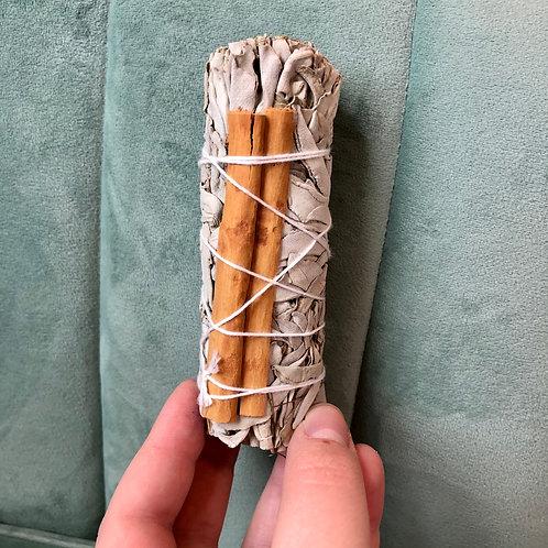 White Sage & Cinnamon