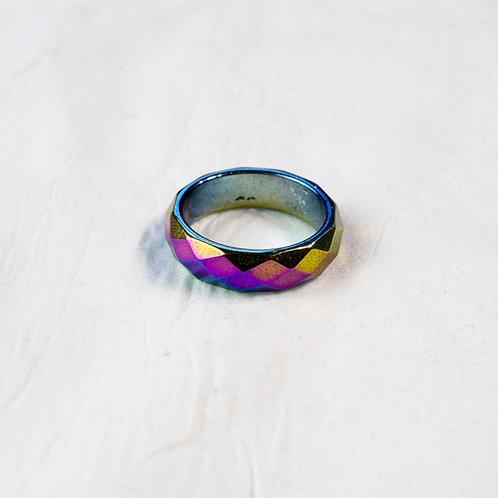 RaHematite Ring: Grounding, Manifestation, Cleansing