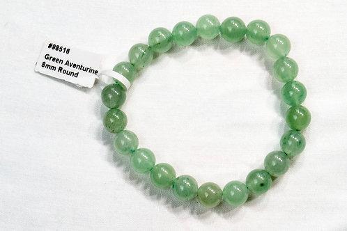 Green Aventurine Elastic Bracelet