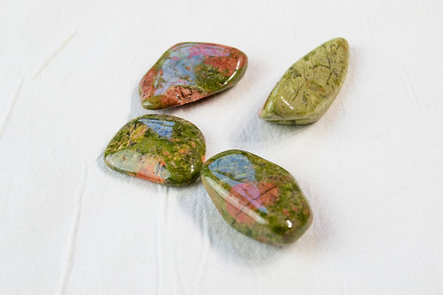 Unakite Stone: Positivity, Openness, Patience