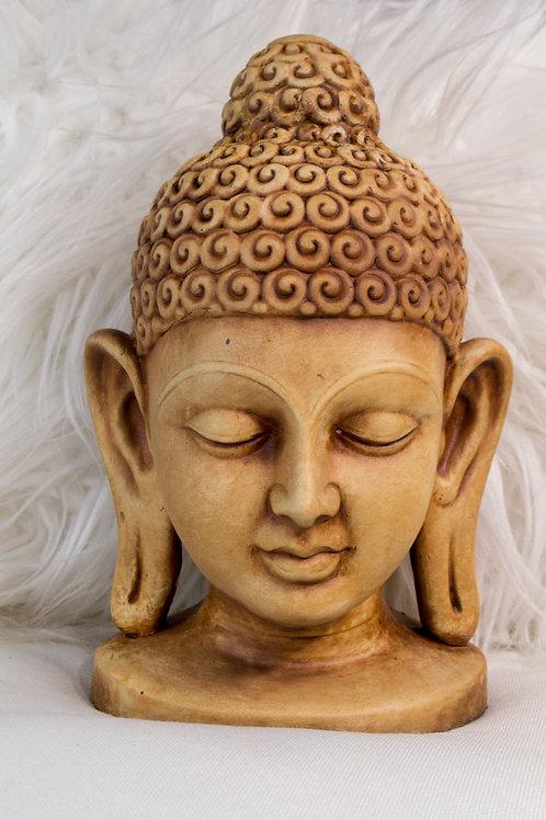 Clay Buddha Head