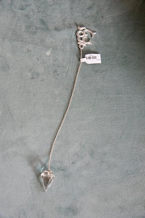 Clear Quartz OM Pendulum
