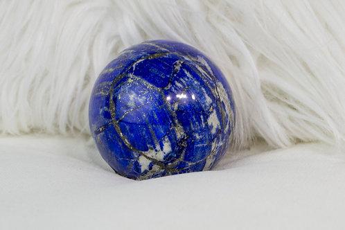 Lapis Lazuli Sphere: Inner Vision, Truthful Communication, Royal Virtues