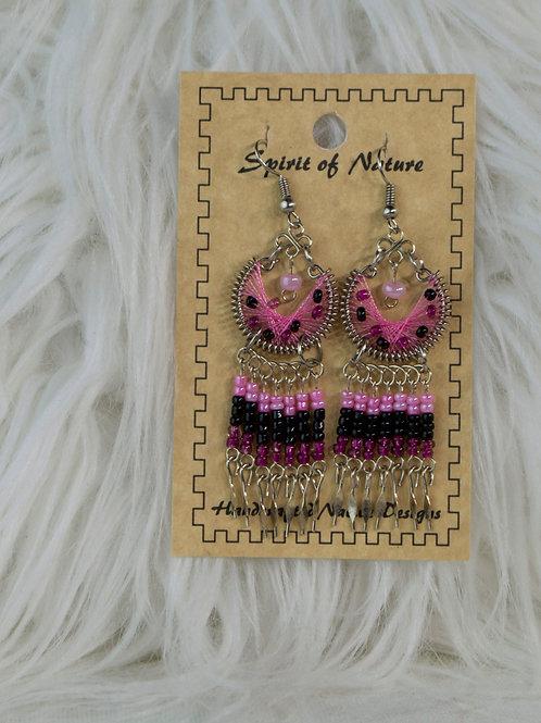 Pink Spirit of Nature Earrings