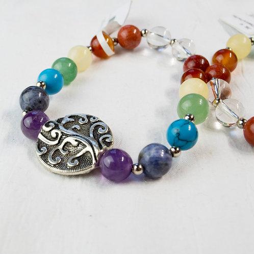 7 Chakra Tree of Life Bracelet