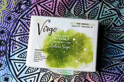 Virgo Zodiac Crystal Gift-Box