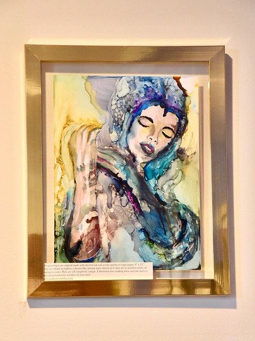 Dream World Goddess Painting (Pt 1)