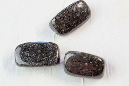 Nuummite Tumbled Stone