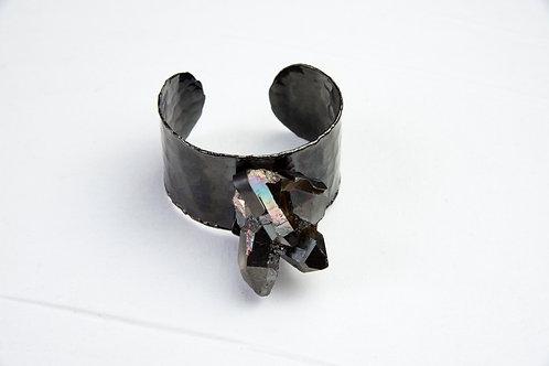 Druzy Black Bracelet