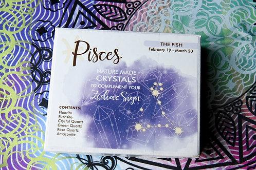 Pisces Zodiac Crystal Gift-Box
