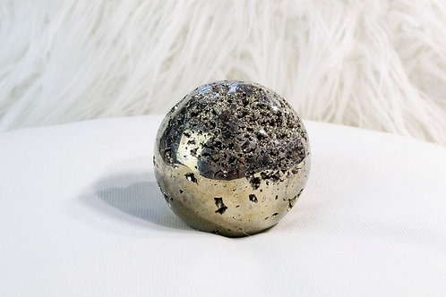 Pyrite Sphere: Overcoming Anxiety, Creativity, Vitality & Willpower