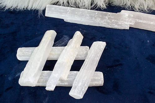 Selenite Stick: Cleansing, Calming, Spiritual Attunement