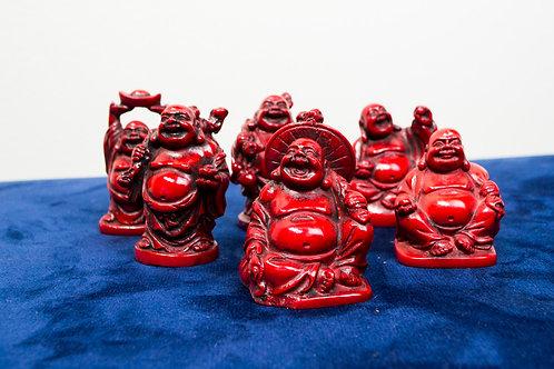 Rosewood Buddha Figurine
