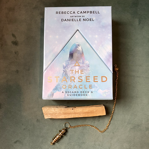Starseed Oracle Kit- Includes Pendulum & Palo Santo