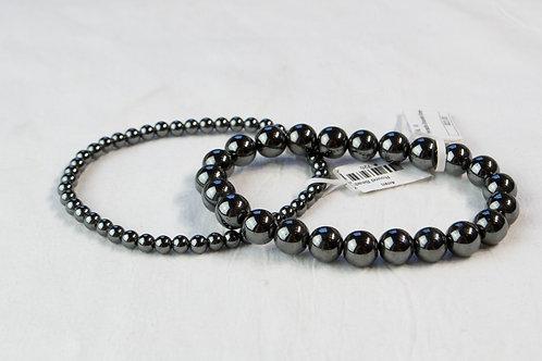 Hematite Elastic Bracelet: Grounding, Manifestation, Cleansing