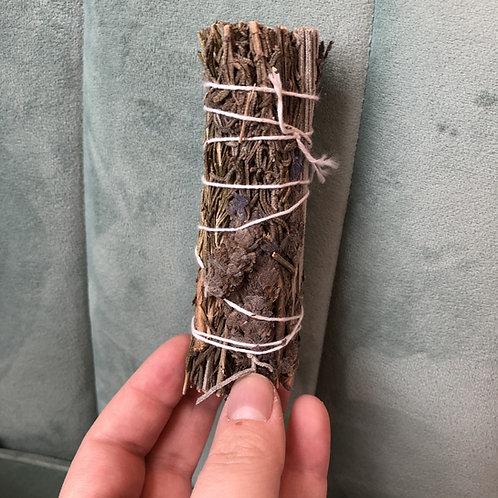 "Lavender & Rosemary Herbal Stick 4"""