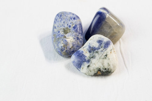 Sodalite Stone: Enhanced Intuition, Mental Clarity, Access to Subconscious