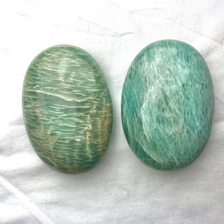 Thumbnail: Amazonite Palm Stone