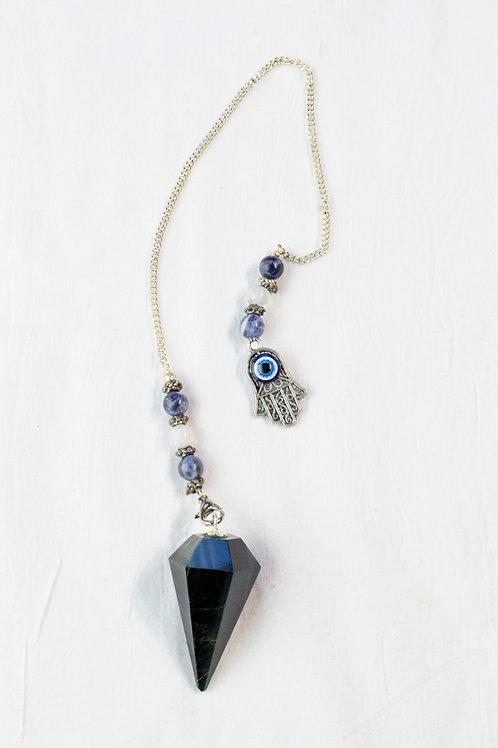 Blue Tiger Eye Pendulum