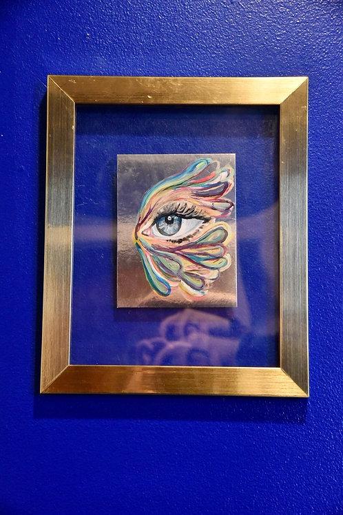 Metallic Eye Painting