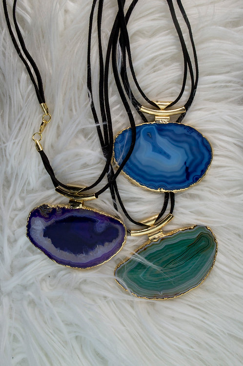Agate Necklaces: Stability, Strength, Harmony