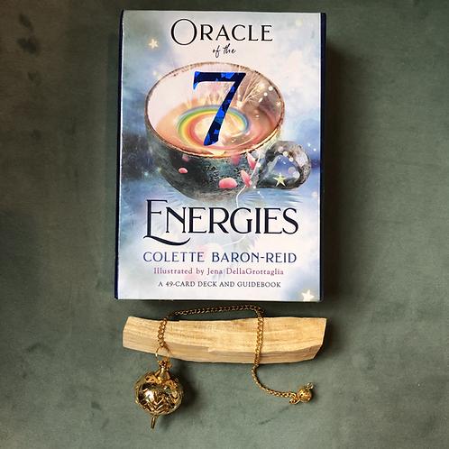 Oracle of the 7 Energies- includes Pendulum & Palo Santo