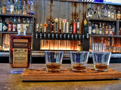 $14 woodinville + oola whiskey flights