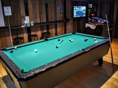 pool + pinball