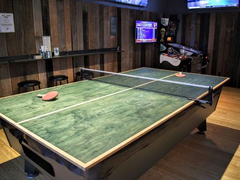 ping-pong + darts