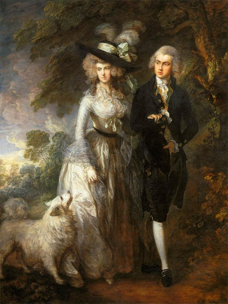 'The Morning Walk', 1785
