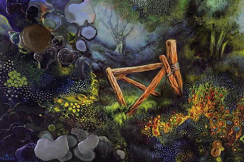 """""""Wooden Gate""""(a)"""