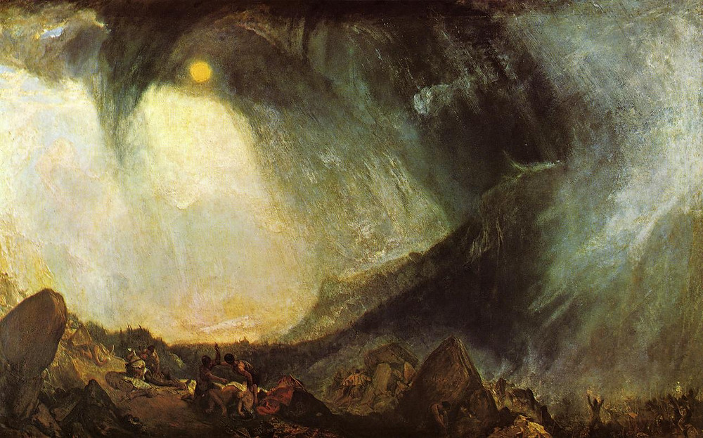 William Turner -Snow Storm