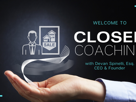 Welcome to CLOSED Coaching!