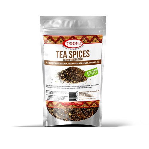 Tea Spices with Lemon Ginger Blend