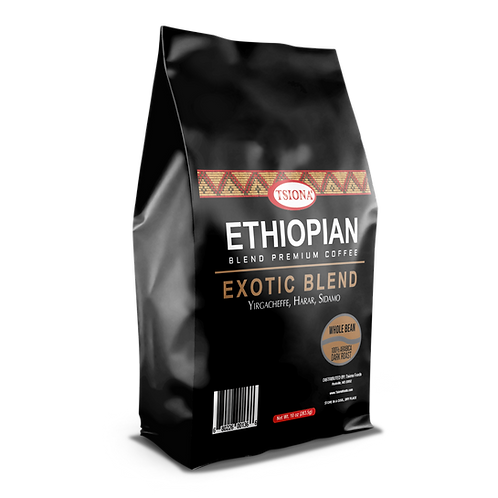 EXOTIC BLEND (Yirgachefee, Harar, Sidamo) Whole Bean