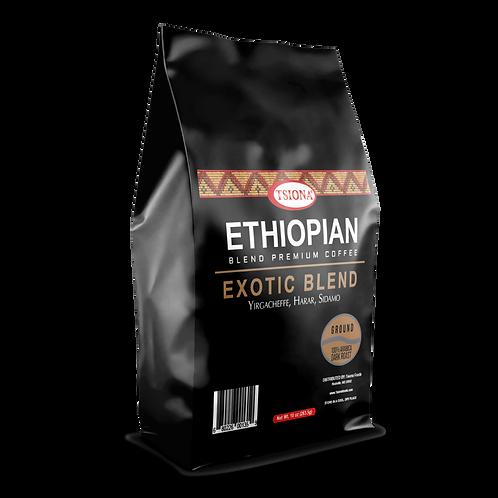 EXOTIC BLEND (Yirgachefee, Harar, Sidamo) Ground Coffee