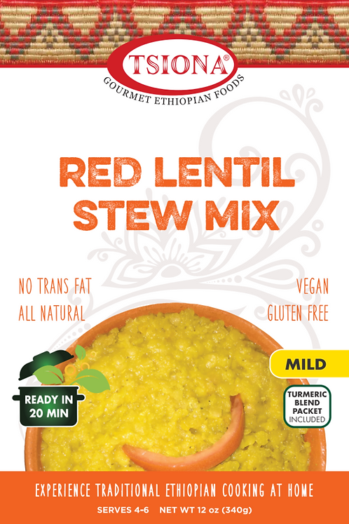 Red Lentil Stew Mix (Mild)
