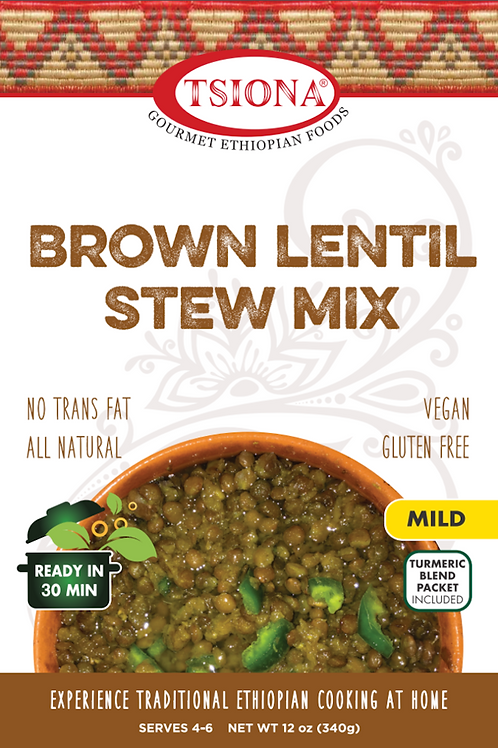 Brown Lentil Stew Mix (Mild)