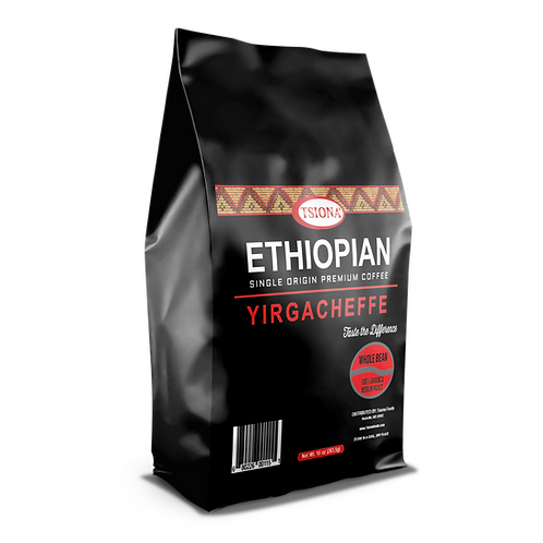 YIRGACHEFEE (Whole Bean Coffee)