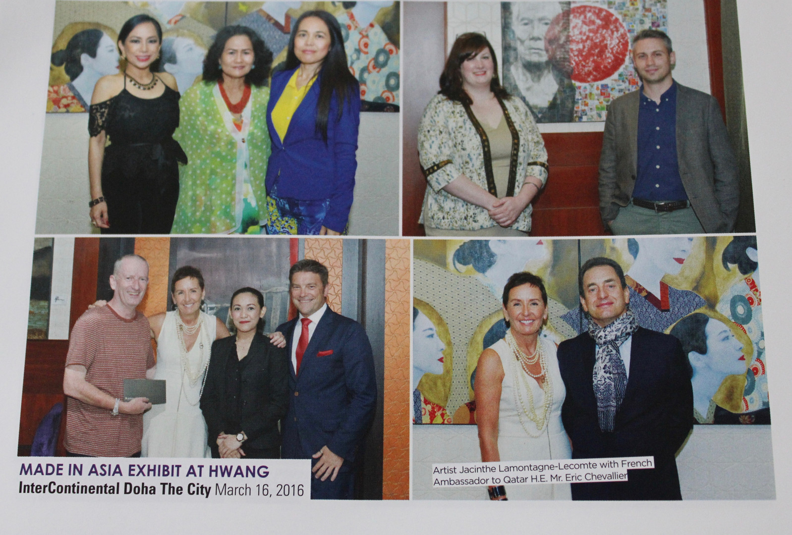 Launch of 7 new paintings Made In Asia
