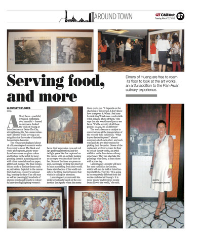 Qatar Tribune Chill Out March 22, 2016