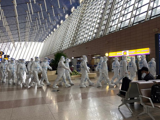 Covid Panic Takes Hold of Shanghai Airport